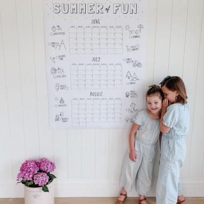 2020 Summer Wall Calendars
