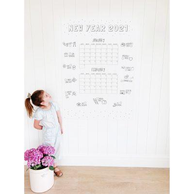 Winter 2021 Family Calendar